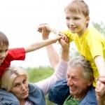 Family fun to play — Stock Photo