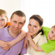 Parents with their children — Stock Photo #3209555