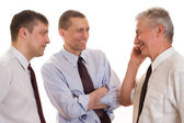 Three businessmen together — Stock Photo