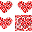Stock Photo: Heart shapes