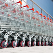 Shopping carts — Stock Photo #3322186