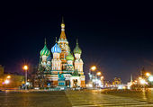 Saint Basil's Cathedral in Moscow — Stock Photo