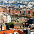 Old warehouses in Hamburg - Stock Photo