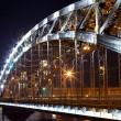 Steel bridge — Stock Photo