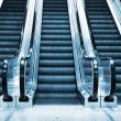 Escalator in modern interior — Stock Photo