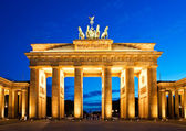 Brandenburg Gate in Berlin — Stock Photo
