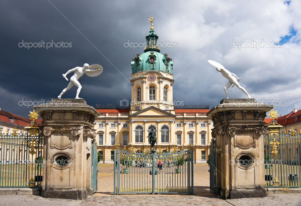 charlottenburg palace in berlin stock photo 3719676. Black Bedroom Furniture Sets. Home Design Ideas