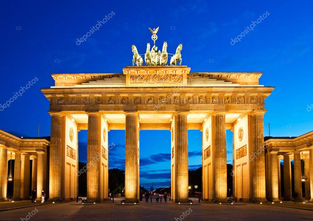 Brandenburg Gate Berlin Photo Brandenburg Gate in Berlin at