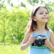 Royalty-Free Stock Photo: Little photographer