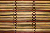 Bamboo rug — Stock Photo