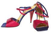 Chaussures femme de couleur — Photo