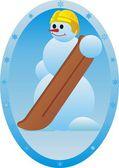 Snowboarder — Foto de Stock