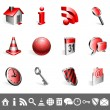 Royalty-Free Stock Vector Image: Icons collection.