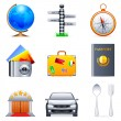Royalty-Free Stock Vector Image: Travel icons.