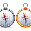 Stock Vector: Compasses.