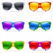 Sunglasses set. - Stock Vector