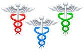 Medicinska tecken. — Stockvektor