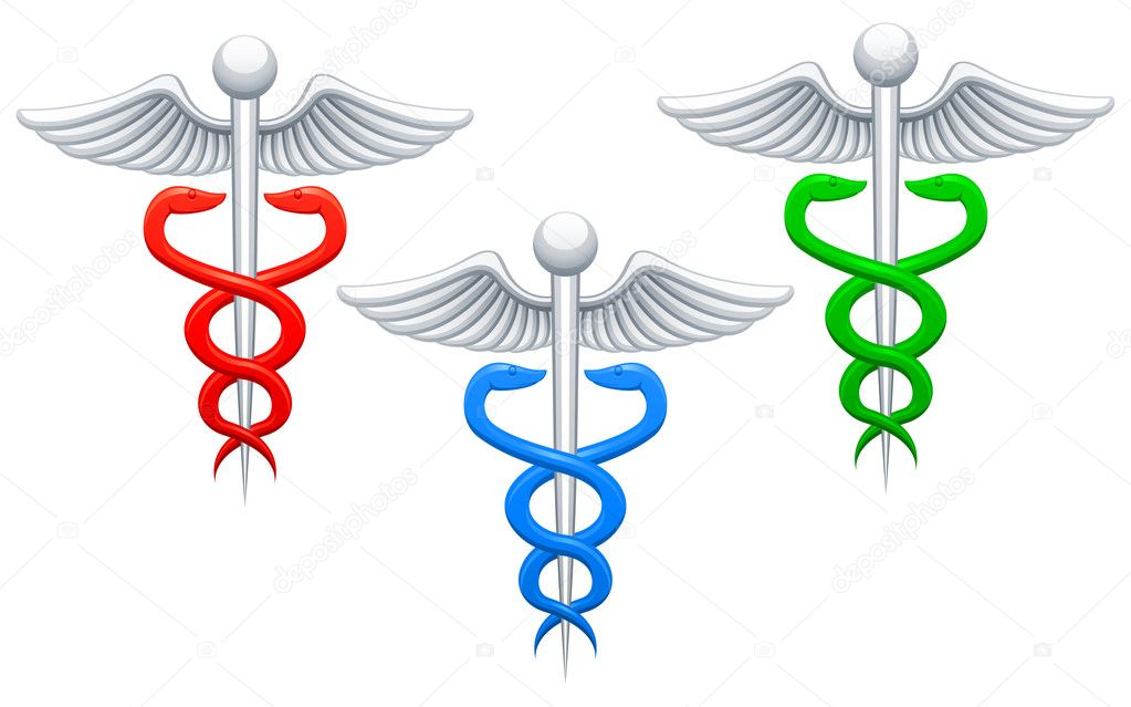 Three icons of medical sign.  Stock Vector #3866343