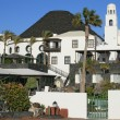 Hotel on Lanzarote, Canary island, Spain — Stock Photo