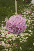 Flower ball from hydrangea — Stock Photo