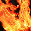 Royalty-Free Stock Photo: Red and yellow fire