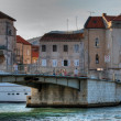 Croatia. Old bridge. — Stock Photo