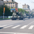 Stock Photo: Military parade