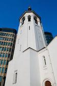 Igreja da cidade — Fotografia Stock