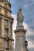 圣母玛利亚的雕像 — 图库照片