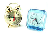 Two alarm clock — Stock Photo