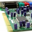 Sound card for computer. Shallow DOF. - Foto de Stock
