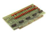 Old circuit board — Stock Photo