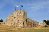 Ruins of crusaders castle — Stock Photo