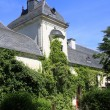 Building, Chenonceau castle - Stock Photo