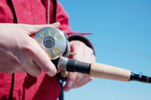 Fishing reel — Stock Photo