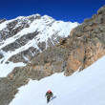 Lone climber — Stock Photo #3392858