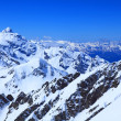View from the top of mount Cheget - Stockfoto