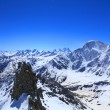 View from the top of mount Cheget — Photo