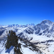 View from the top of mount Cheget - Foto Stock
