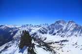 View from the top of mount Cheget — Foto de Stock