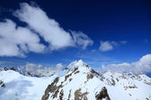 View from the top of mount Cheget — Stockfoto