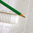 Stockfoto: Budget Spreadsheet