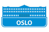 Oslo outline — Stock Vector