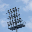 Football Stadium Lights — Stock Photo