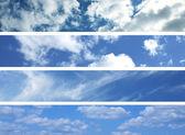 Mraky na obloze — Stock fotografie