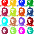 ������, ������: Ernesto Che Guevara illustration 4 x 4