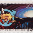 COMORES - stamp printed in Comores shows Viking 3 in space mission — Stock Photo