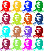 Ernesto Che Guevara illustration 4 x 4 — Stock Photo
