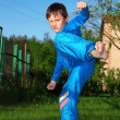 Karate kid — Stock Photo #2715203