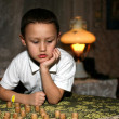 Pensive boy — Stock Photo #2732582